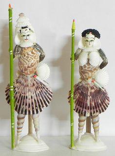 Seashell Painting, Seashell Art, Seashell Crafts, Seashell Jewelry, Shell Centerpieces, Shell Decorations, Sea Crafts, Diy And Crafts, Arts And Crafts