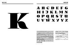 Blesk, tipografía vi
