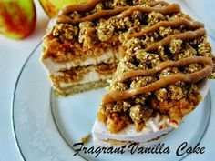 Raw Caramel Apple Cheesecake by Fragrant Vanilla Cake: Top 15 Thanksgiving Desserts