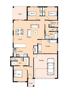 Delaraine Cavalier Homes NQ Home Designs - Holloway Homes, Cavalier Homes North Queensland   Townsville New Homes   Townsville New Home Builders