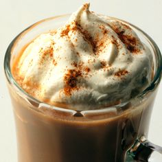Mexican coffee recipe: cup ground dark roast coffee 2 teasp cinnamon, brewed w/ 6 c water:simmer 1 c milk, c chocolate syrup, 2 tblso brown sugar until sugar dissloves. Add 1 teasp vanilla extract to coffee milk mixtures whipped cream on top Mexican Coffee Recipe, Coffee Recipes, Drink Recipes, Tea Recipes, Fall Recipes, Delicious Recipes, Mexican Dishes, Mexican Food Recipes, Breakfast
