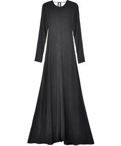 Black Backless Dress