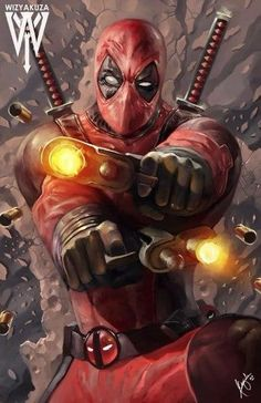 Drawing Marvel Comics Deadpool - x Museum Quality 80 lb. Marvel Comics, Bd Comics, Anime Comics, Marvel Heroes, Comic Book Characters, Marvel Characters, Comic Character, Comic Books Art, Comic Art