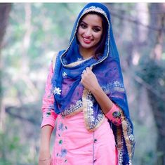 Punjabi Girls, Boutique Suits, Indian People, Desi, Saree, Women's Fashion, Clothes For Women, Diamond, Simple