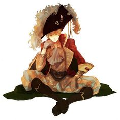 England Pirate - hetalia-england Fan Art