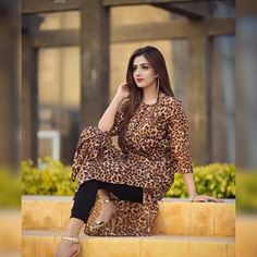 Image may contain: 1 person, standing Pakistani Fashion Casual, Pakistani Girl, Pakistani Gharara, Stylish Girl Images, Stylish Girl Pic, Stylish Dresses, Simple Dresses, Photo Poses For Boy, Indian Clothes Online