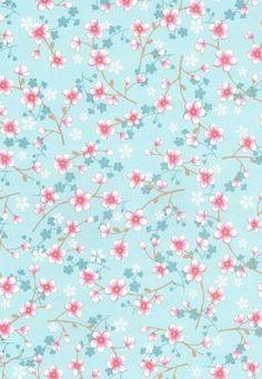Eijffinger PIP studio behang Cherry Blossom licht blauw