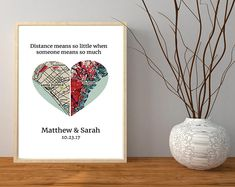 Personalized Handmade Art & Meaningful gifts by PaperdMoments Anniversary Boyfriend, First Anniversary Gifts, Wedding Vow Art, Long Distance Boyfriend, First Home Gifts, Long Distance Relationship Gifts, Going Away Gifts, Presents For Best Friends, Client Gifts