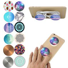 Fashion Air Sac Phone Holder Expanding Stand Grip Pop Socket Mount