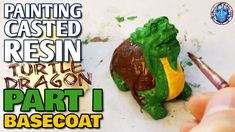 Resin Casting, Turtle, The Creator, Arts And Crafts, It Cast, Painting, Turtles, Tortoise, Painting Art