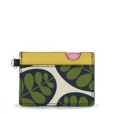 Orla Kiely, The Queen of Prints - Shop The Pebble Grain Collection featuring some of Orla Kiely's most recognisable patterns My Style Quiz, Orla Keily, Ferns, Italian Leather, Coin Purse, Card Holder, Shoulder Bag, Wallet, Website