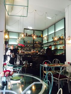 Mint Garden Cafe, (via Casati, 12). Romanticism flavored coffee? It's surely on…