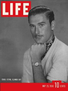 Errol Flynn - Life Magazine [United States] (23 May 1938)