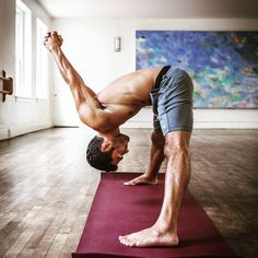 Yoga & Men - This pose is such a great stress relief!