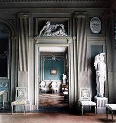 """Tweedland"" The Gentlemen's club: NEOCLASSICAL OBSESSIONS IN THE NORTH ...GUNNEBO SLOTT ... ONE EXAMPLE OF THE GUSTAVIAN STYLE IN SWEDEN"