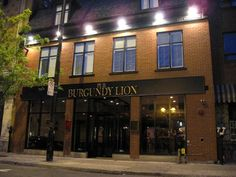 Burgundy Lion Pub - City Guide Montreal