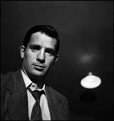 liott Erwitt - Jack Kerouac, New York City 1953 -repinned by San Francisco portrait studio http://LinneaLenkus.com #photographers