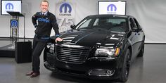 Here's Pietro Gorlier, President of Mopar Parts, with a sharp 2013 Chrysler 300S