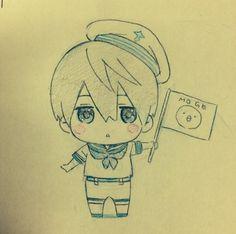 From おまめ ... Free! - Iwatobi Swim Club, haruka nanase, haru nanase, haru, free!, iwatobi, nanase