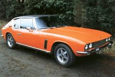 British 1960 Jensen Interceptor: Now sitting behind the wheel...please move out of the way!