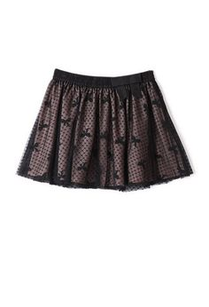 Mesh & Bows Skater Skirt (Kids) | FOREVER21 girls - 2079397889