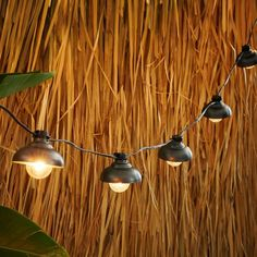 Industrial String Lights, White