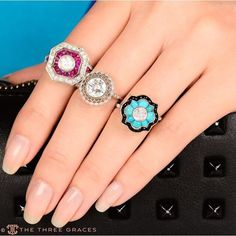 Coming soon.... #TurquoiseRing #AlternativeBridal #Engaged #Onyx #RubyRing #RingBling