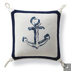 Outdoor Anchors Away Pillow from Frontgate