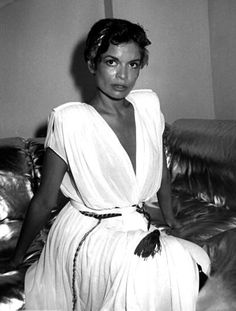 Bianca Jagger is a social and human rights activist, former actress and model. She founded the Bianca Jagger Human Rights Foundation and is a prominent international human rights and climate change advocate. Bianca was the first wife of Mick Jagger. Between her low-cut suits, oversized sunglasses and bowler hats, love of white colored clothing, Jagger never wears a look that we don't covet.