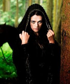 """BBC """"Merlin"""" - Katie McGrath as Morgana- also does anyone think she is like drop dead gorgeous? I have a girl crush! <3"""