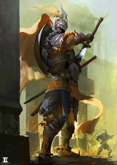 ArtStation - warrior, kylin li