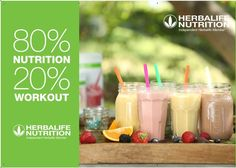 Herbalife's innovative products have been developed by scientists & nutritionists with your personal wellness.