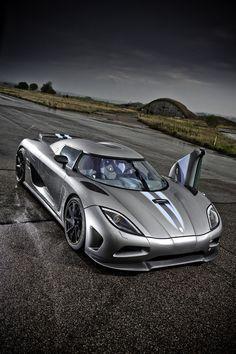 ♂ Grey car #wheels #vehicle Koenigsegg Agera