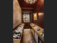 An expansive wine cellar than can house all of the wine that is produced on the vineyard on the property. 75 Beverly Park Ln | Beverly Hills