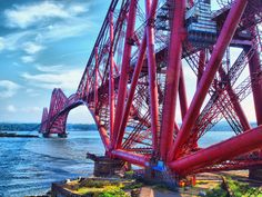 The Forth Bridge, North Queensferry & South Queensferry, Scotland