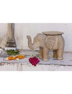 #Beistelltisch #Elefant #jaimahal #creation