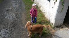 S Garpíkem na procházce