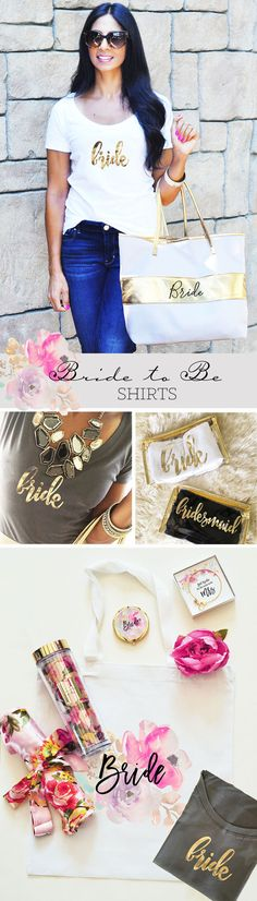 Bride Gift Ideas Bride Shirt Bridal Shower Gift for Bride Engagement Gift for Her by ModParty