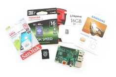 Raspberry Pi microSD Card Shoot-out where a range of cards are benchmarked. #RaspberryPi