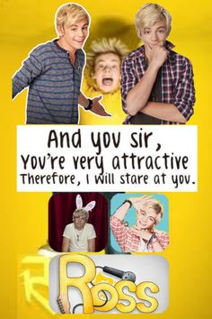 """""""Ross Lynch is attractive"""" by tapdancer25 ❤ liked on Polyvore"""