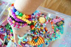 """mahouprince: """"I want candy Friendship Bracelets, Sprinkles, Rave, Candy, Jewelry, Raves, Jewlery, Jewerly, Schmuck"""