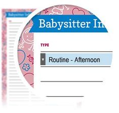 If you're planning a date night  and leaving the kids with a sitter, checkout  this Babysitter Checklist!   - Download here: https://www.alejandra.tv/shop/printable-home-organizing-checklists/?utm_source=Pinterest&utm_medium=Pin&utm_content=Babysitter&utm_campaign=Checklists/#kids This interactive checklist contains 50+ drop-down options for every imaginable category of information the babysitter might need.