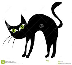 Halloween Black Cat Clipart | Clipart Panda - Free Clipart Images ...