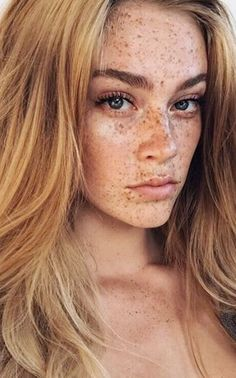 Connect my love for freckles...