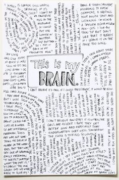 Art journal page from thehandcraftedstory.com