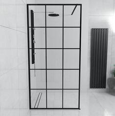 Shower Screen, Industrial Bathroom, Glass Shower, Industrial Style, Workshop, Wall, Furniture, Home Decor, Duplex