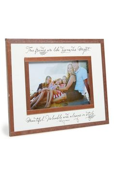 Ben's Garden 'True Friends Are Like Diamonds' Picture Frame (4x6) available at #Nordstrom