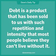 I'm debt free!!! Well, ok house payment, but that will be gone in about 10 years!!! :)