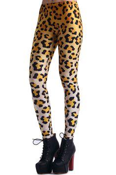 Leopard Print Leggings #Romwe