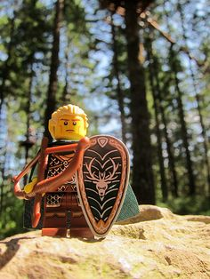 LEGO Collectible Minifigures Series 3 : Legolas in Lord of the Rings